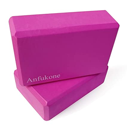 Amazon.com : Anfukone Yoga Block High Density EVA Foam ...