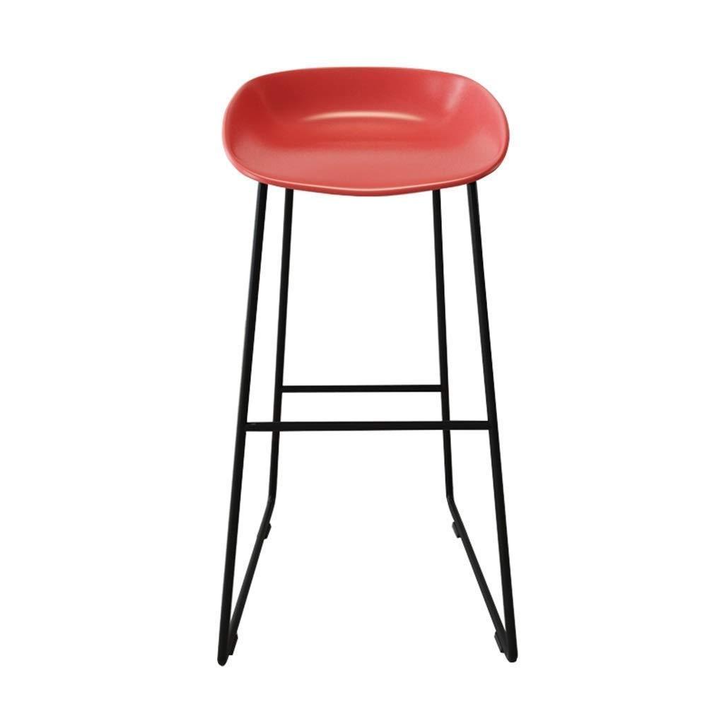 Amazon.com: Taburete alto minimalista moderno, silla de ...