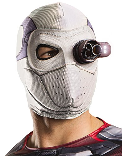 Rubie's Costume Co Men's Suicide Squad Deadshot Mask, Light Up, One Size -