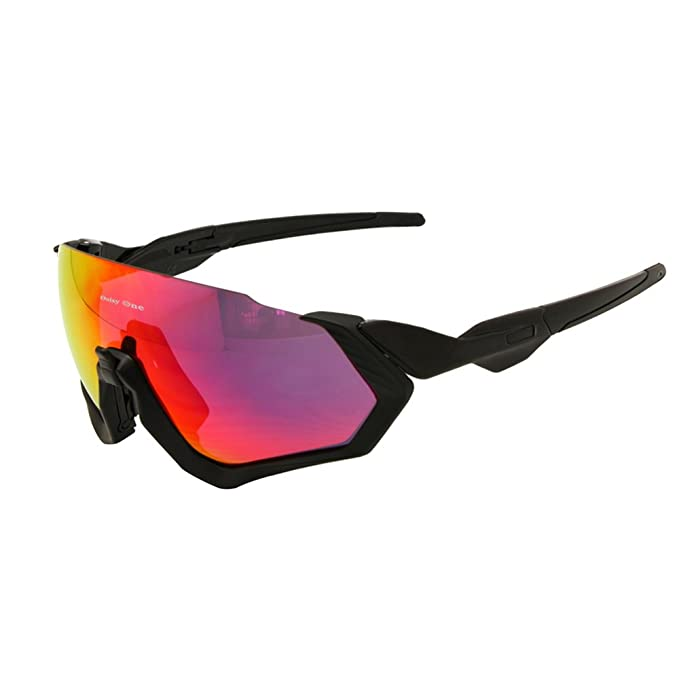f0a04a1f193 Image Unavailable. Image not available for. Color  Polarized Cycling  Goggles 3 Lens Kit UV400 Bicycle Sunglasses Mountain Bike MTB Outdoor  Sports Glasses