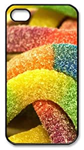 Cheap price iphone 4 case Candy PC Black for Apple iPhone 4/4S by icecream design