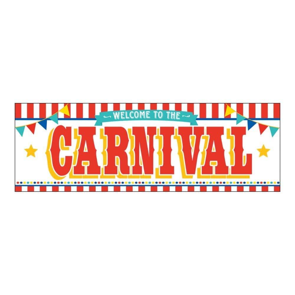 Fun Express Plastic Carnival Banner SYNCHKG070313