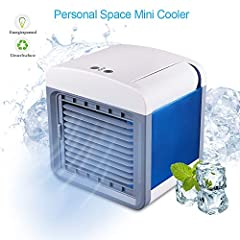 ✦ Three-in-one cooling and humidifying air, energy saving and environmental protection. Air Cooler lets you create your own personnel Comfort Zone - Just Add Water And Press the button.✦ Air Purifier & Cooler & Humidifier The ...