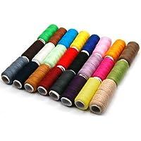Sodial Kit de couture avec fil en polyester Assortiment de couleurs