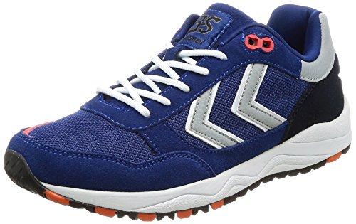 Hummel 3s Sport, Scarpe da Ginnastica Basse Unisex-Adulto Blu (Limoges Blue)