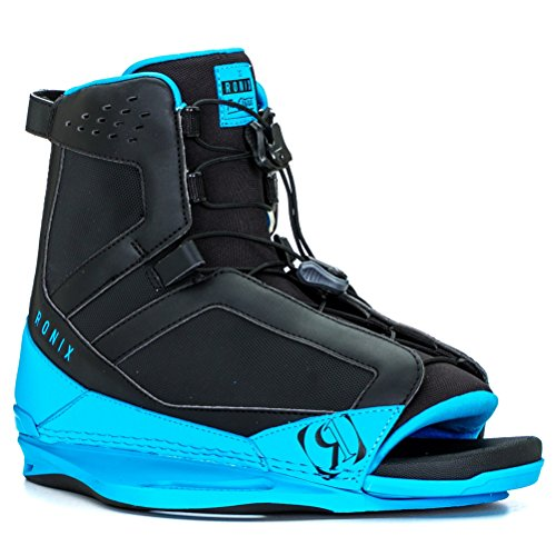District Boot - Black / Azure Blue - 5-8.5 (7-11, Blue)