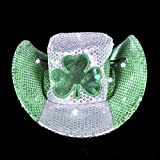 ST. PATRICK'S DAY LED COWBOY HAT, Case of 24