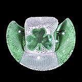 ST. PATRICK'S DAY LED COWBOY HAT, Case of 24