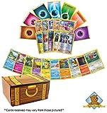 Pokemon Ultra Premium Card Lot - 1000 Pokemon Cards! 5 Rares - 100 Energy - 5 Foils! Includes Golden Groundhog Treasure Chest Storage Box!