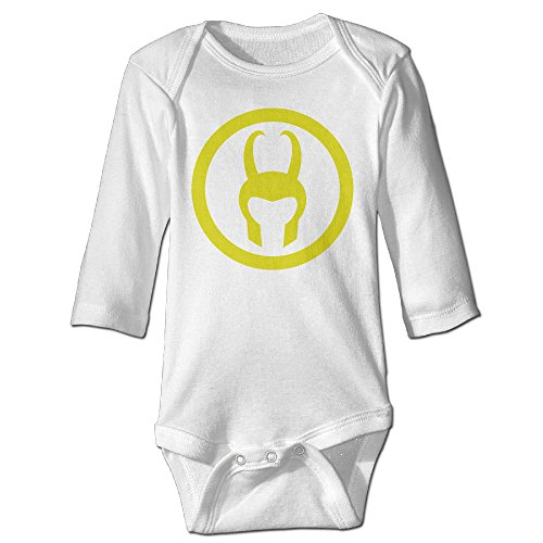 ALIZISHOP Baby's Loki Helmet Climbing Clothes Bodysuit Long Sleeve (Loki Helmet For Sale)
