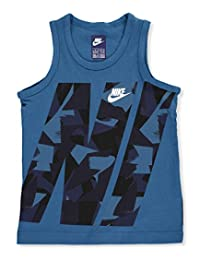 Nike Little Boys' Tank Top (Sizes 4 - 7) - industrial blue, 6