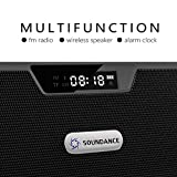 Soundance FM Radio Wireless Bluetooth Speaker Alarm
