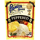Pioneer Brand Gravy Mix, Peppered, 2.75 Ounce Packets (Pack Of 6) - Add Sausage To Make Country Sausage Gravy