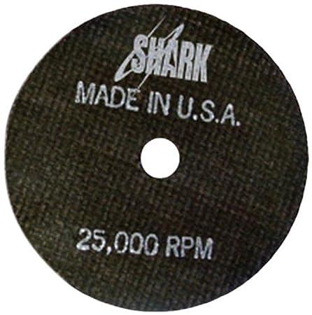 6-Inch by 0.040 by 7//8-Inch Shark Welding 13154 Shark Cut-Off Wheel 46-Grit 1-Pack