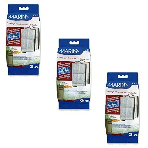 (3 Pack) Marina i25 Replacement Power Cartridge, 2 Cartridges each