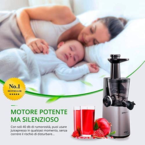 Extractor de zumo en frío Juicepresso Siquri 32 rpm con control de ...