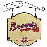 MLB Atlanta Braves Tavern Sign, One Size, Blue