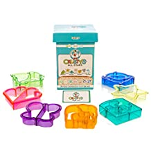 Crusty's Sandwich Cutters - Set of 5 Fun Shapes - Heart, Butterfly, Dinosaur, Puzzle and Star
