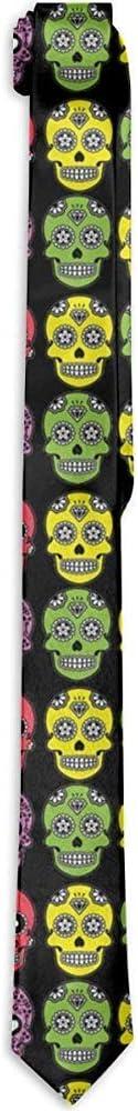 Accesorio de disfraces Halloween Corbatas de calaveras de azúcar ...