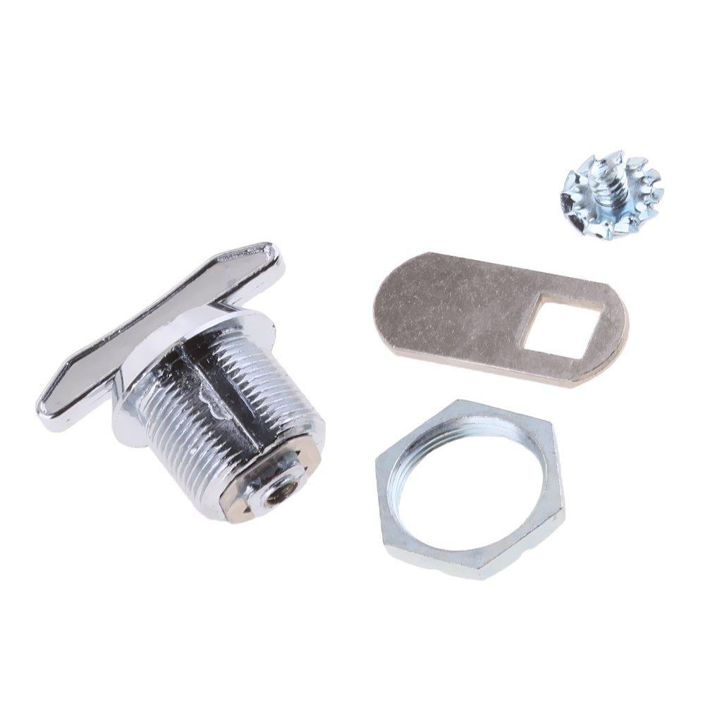 Sharplace 90/° Universal Schrankschlo/ß M/öbelschlo/ß Briefkastenschlo/ß 16 25 20 20mm 30 mm Keyless System
