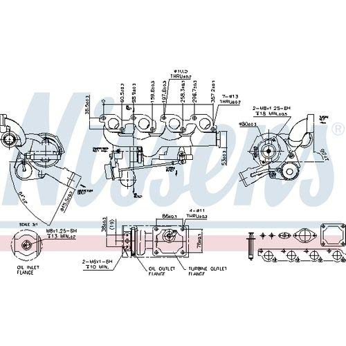 Nissens 93106 Turbo Charger: