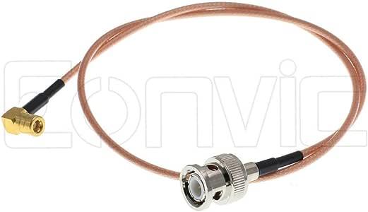 Eonvic Cables-BNC - Cable coaxial de señal coaxial RF RG316 Macho ...