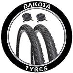 "MTB Semi Slick Tyres 26"" x 1.75"" Dako..."