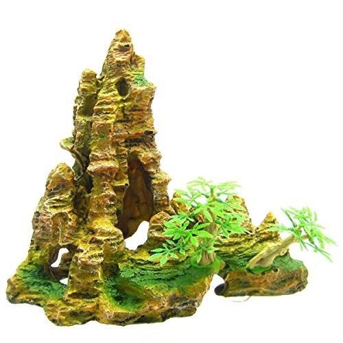 Mountain Aquarium Ornament tree 8.8