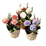 3-Packs-Artificial-Hydrangea-Flowers-with-Vase-Fake-Silk-Real-Touch-Flowers-Floral-Arrangement-Bridal-Bridesmaid-Bouquets-Decoration-for-Table-Home-Office-Centerpieces-DIY-Wedding-Party-Plants-Decor