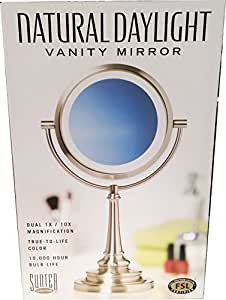 Amazon Com Sunter Natural Daylight Vanity Makeup Mirror