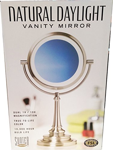 Sunter Natural Daylight Vanity Makeup Mirror, NEW 2015 Model