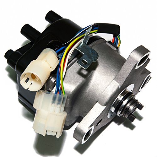 Crx Ignition - MAS Compatible Ignition Distributor w/Cap & Rotor TD-22U TD-27U TD-28U for Civic CRX JDM B16A 30100-PR3-016 30100-PR3-024 30100PR3016