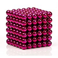 Sky Magnets 5 mm Magnetic Balls Cube Fidget Gadget Toys Rare Earth Magnet Office Desk Toy Games Magnet Toys Multicolor Beads Stress Relief Toys for Adults (Multicolor Edition)