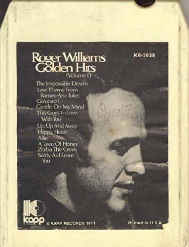 Roger Williams: Golden Hits, Vol. 2 8 track tape Vol 2 8 Track Tape