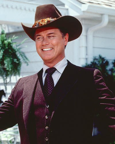 Larry Hagman 8x10 HD Aluminum Wall Art Classic as Jr Ewing from Dallas