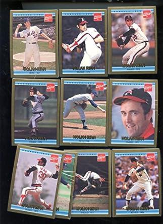 1992 Donruss Nolan Ryan Coca Cola Set Mlb Baseball Card 10