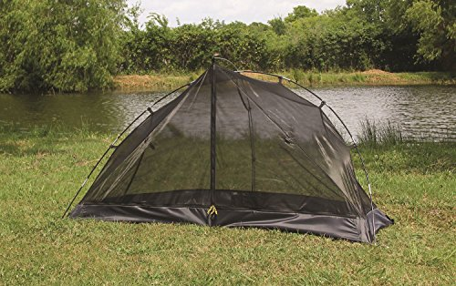 """First Gear - Cliff Hanger - Solo Tent 2 Sleeps 1 - 6'7"""" x 2'5"""" x3'7"""" Taped fly and floor seams Full coverage fly completely surrounds the tent"""