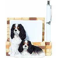 E&S Pets- 46480-107 Porta-notas magnético para mascotas Yorkie 3D 3D. Hace el regalo perfecto de la mascota para los amantes del tenedor de nota de Yorkie. Hecho a mano únicamente para su hogar u oficina.