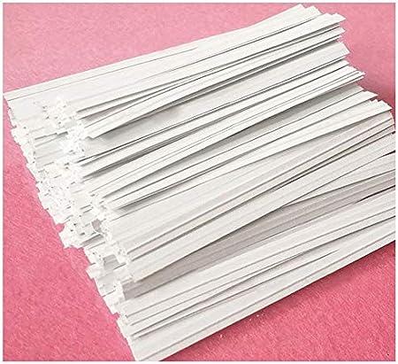 Amazon.com: Easytle Paper - Bridas de papel, 100 unidades ...