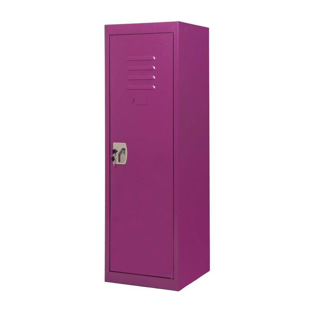Merax SMART Kids Metal Storage Locker for Home and School, 48-Inch (Purple)