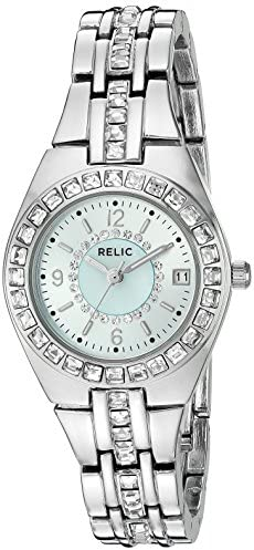 Relic by Fossil Women s Queen s Court Quartz Stainless Steel Sport Watch
