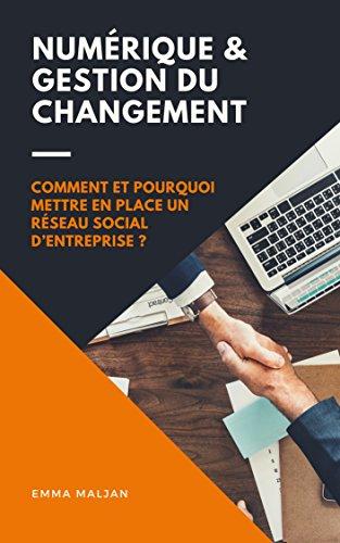 Numérique et Gestion du Changement: Comment et pourquoi mettre en place un réseau social d'entreprise (French Edition)
