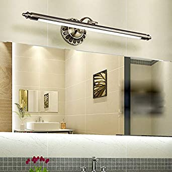 Miroir américain Lampe LED Européenne Miroir Phare Humidité Salle De ...