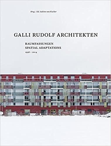 Book Galli Rudolf Architects 1998-2013: Urban Frames