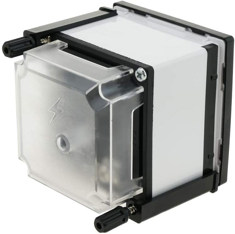BeMatik Analoges Messger/ät der elektrischen Verkleidung 72x72mm 100A 5A Amperemeter