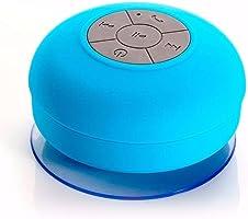 Caixa De Som Bluetooth Portatil a Prova Da Agua Universal Azul