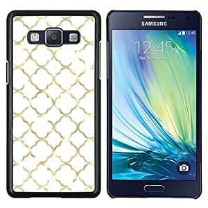 Stuss Case / Funda Carcasa protectora - Metal de oro Ventana Marco Dios Iglesia - Samsung Galaxy A5 ( A5000 ) 2014 Version