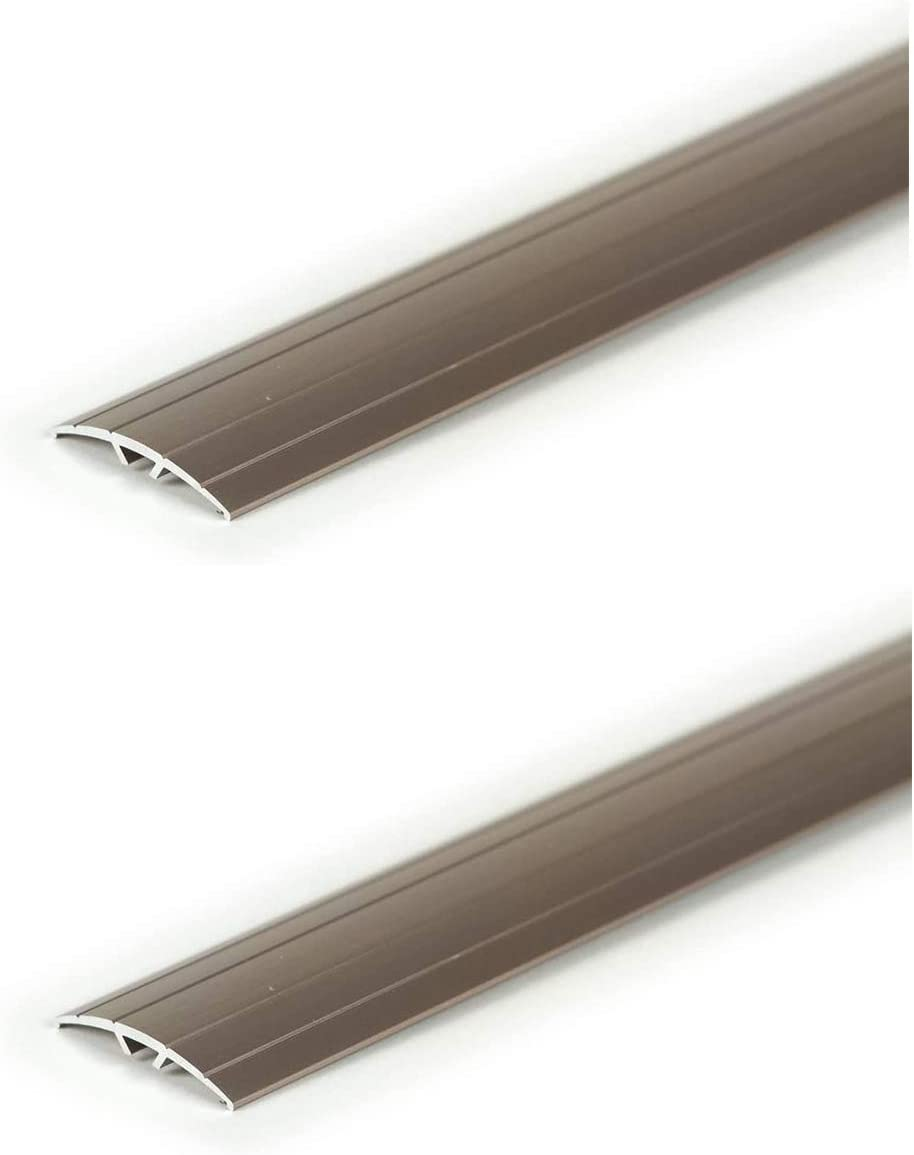 Pewter M-D Building Products 43811 36-Inch MultiFloor Transitions with Hidden Fasteners