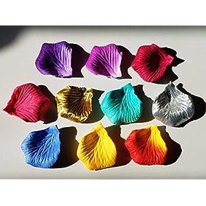 pivotproduction 1000~10000pcs Silk Flower Rose Petals Wedding Party Decorations 54