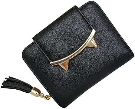 cat lover gift travel card holder earphone pouch money wallet Cute cat purse